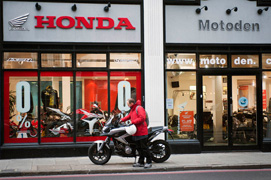 Motoden Honda dealer showroom1