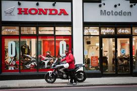 Motoden Honda dealer showroom1